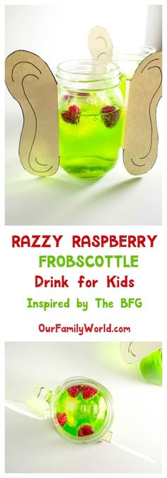 Looking for a fun drink recipe for kids? Check out our take on the Frobscottle drink from The BFG!