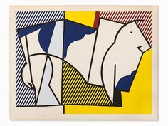 Roy Lichtenstein, 'Bull III', 1973 - by Auctionata AG #contemporary #PopArt