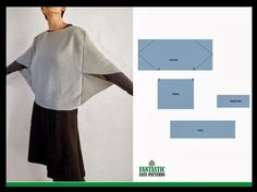 Sewing Simple Top Free Pattern New Ideas Diy Clothing, Clothing Patterns, Dress Patterns, Knitting Patterns Free, Free Pattern, Sewing Patterns, Knitting Ideas, Sewing Blouses, Creation Couture