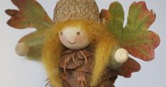 PINECONE FAIRY & ELF TUTORIAL How to make Ornaments & Standing Pinecone Wee Folk Pinecone Elves and Fairies that stand on their own... Acorn Crafts, Pine Cone Crafts, Diy Crafts To Sell, Fall Crafts, Christmas Crafts, Crafts For Kids, Christmas Ornaments, Diy Owl Decorations, Owls Decor
