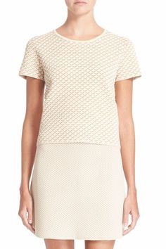 2c8d15d9ecf760 Theory Ferson Knit Top Ivory Mix Size P NWT WT29  275  Theory  KnitTop  Theory