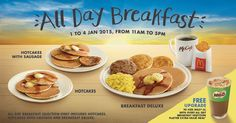 McDonald's has begun serving breakfast all day which proves, they could have served us breakfast at 10:31 all along.