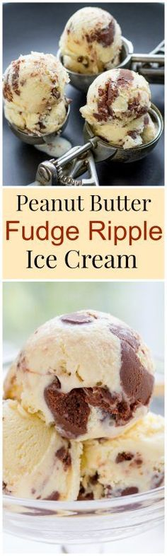 Peanut Butter Fudge Ripple Ice Cream                                                                                                                                                                                 More