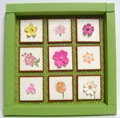 Cadre du printemps by papierscrapetc - Cards and Paper Crafts at Splitcoaststampers
