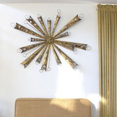 Starburst Wall Sculpture now featured on Fab.