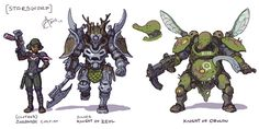 Zeol and Obulon Knights