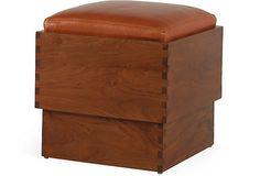 Desert Modern Cube, Cognac on OneKingsLane.com, $1,449