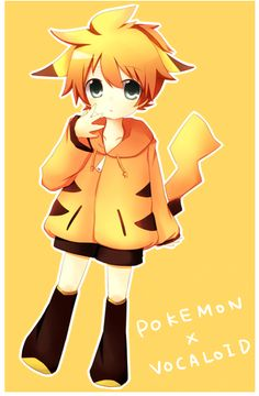 pokemon + vocaloid