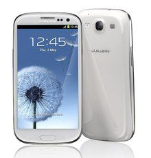 Here is the beautiful Samsung Galaxy S3 smartphone.