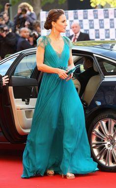 Garotas Modernas: Vestido perfeito: Kate Middleton, a Duquesa Catherine, de Jenny Packham (e por quê os vestidos de festa estão tão absurdamente caros no Brasil???)
