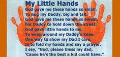 My Little Hands for Father's Day