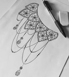 • tattoo • dotwork • lace • vintage •