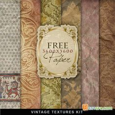 free vintage paper