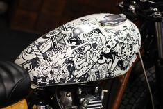 Fuel Tank - Cool Kid Customs Yahama X650 on Behance. By Wall Dizzy