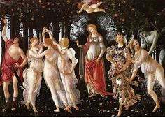 Botticelli's Allegory of Spring. I had an intense physical reaction standing before this great painting: years later I heard a radio report about the Stendahl syndrome. Oh yeah!
