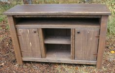 Reclaimed Rustic Entertainment Cabinet By EchoPeakDesign On Etsy