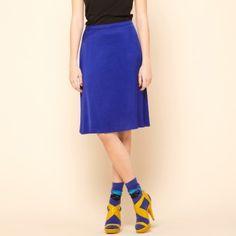 Indigo blue Rebel skirt