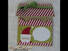 Envelope Punch Board Gift Card Holder - YouTube