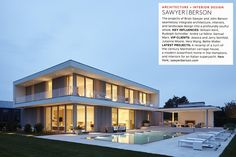 Architectural Digest 100 - 2016 - Projects - Sawyer | Berson