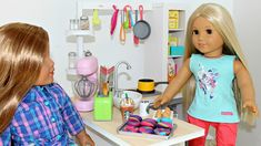 DIY Doll Kitchen | American Girl Doll Crafts