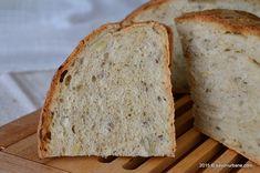 Paine de casa cu seminte Savori Urbane (4) Sweet Bread, Baby Food Recipes, Pretzels, Breads, Diet, Brot, Recipes For Baby Food, Bread Rolls, Bread