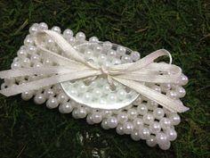 Ivory Pearl  Corsage Bracelet by PetalandForrest on Etsy