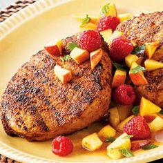 GRILLED PORK CHOPS RECIPE | Caribbean Recipes | Caribbean Food Recipes