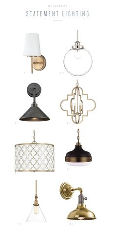 Affordable Statement Lighting