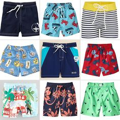 16 Cute Swimsuits For Little Boys