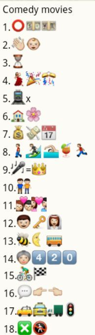 Whatsapp Guess Puzzle - Comedy Movie Names Emoji Quiz Games, Nice Quotes, Best Quotes, Emoji Puzzle, Emoji Movie, Country Names, English Movies, Smarty Pants, Comedy Movies