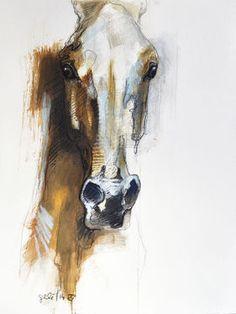 """Saatchi Art Artist Benedicte Gele; Drawing, """"Alerte IX (Sold)"""" #art"""