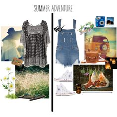Summer Adventure Outfits!