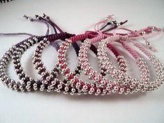 Armbanden - Geknoopte lucky armbandjes in 31 kleuren. A1 - Een uniek product van Unycq op DaWanda