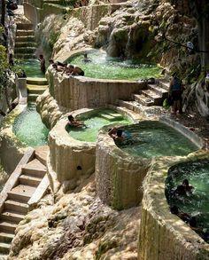 The baths & hot springs at Las Grutas Tolantongo, Hidalgo - Mexico 📷: Javier Garcia
