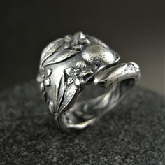 Solid 925 Sterling Silver Large Satin Number 95 21mm x 25mm