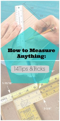 14 Measuring Tips and Techniques for DIYers from #familyhandyman