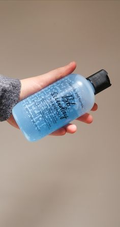 Lush hair treat for all hair types! Bumble And Bumble Sunday Shampoo, Lush, Water Bottle, Hair, Water Bottles, Strengthen Hair