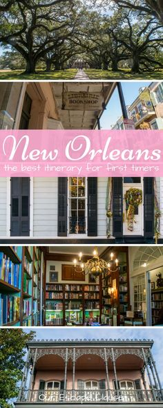Planning your first trip to New Orleans! Check out this 3 days in New Orleans itinerary, designed especially for a first visit to the city! Discover the French Quarter, the Garden District, Oak Alley Plantation, classic NOLA cuisine, and more! #neworleans #nola #itinerary #neworleansitinerary #travel #travelnola #bigeasy