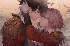 Fantasy Gudao and Mash Fate Grand Order