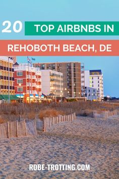 Find out why Rehoboth Beach, Delaware is consistently voted on of America's best beach towns by booking one of these TOP Airbnb beach houses. From large group houses to romantic beach cottages in… More