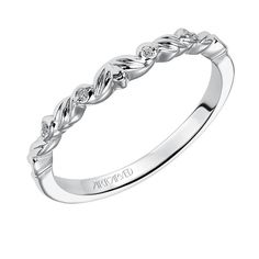 ArtCarved Diamond Wedding Band 14K - 11236296.jpg
