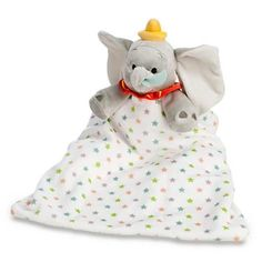 Disney Exclusive Dumbo Plush Security Blanket Lovey NWT #Disney
