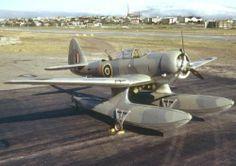 The Royal Air Force Northrop Float-Plane Patrols Arctic Waters. Amphibious Aircraft, Ww2 Aircraft, Military Aircraft, Military Jets, Airplane Flying, Flying Boat, Diesel Punk, Float Plane, Pilot