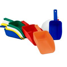 Remco® Color Coded Hand Scoops Play Yard, Food Industry, Good Grips, Hand Tools, Coding, Color, Colour, Programming, Colors