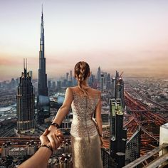 Follow me to ... Dubai rooftops