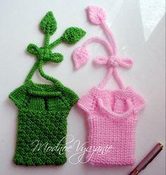 Кофточка для мобильного телефона - Модное вязание