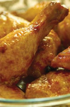Honey Chicken An easy chicken recipe with just a few ingredients.