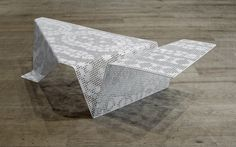 idea modern table  Interweaving the Threads of Technology and Tradition: LACESCAPE TABLE