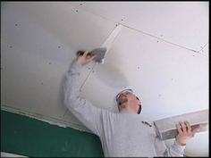 Pose Placo Plafond Refaire Un Plafond Avec Du Placoplatre Carreaux De Plafond Pose Placo Plafond Et Plafond