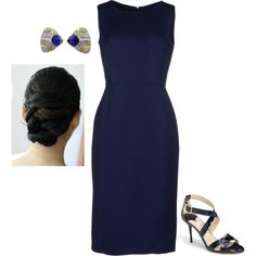 Untitled #2625 by injie-anis on Polyvore featuring moda, Carolina Herrera and Jimmy Choo